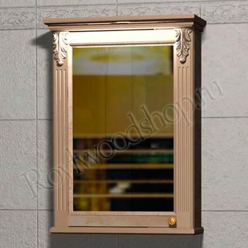№2. Зеркальный навесной шкаф