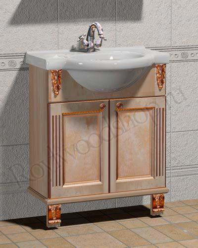 Мойдодыр для ванных комнат массив