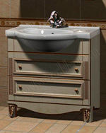 Мойдодыр - тумбочка для ванной из массива