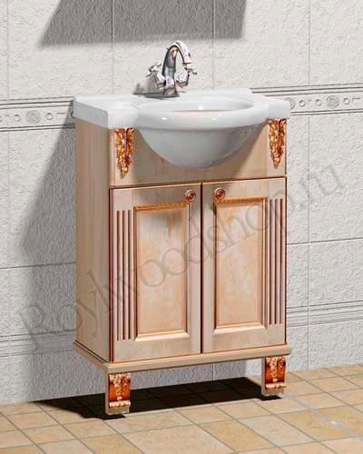 Мойдодыр для ванной комнаты 55см