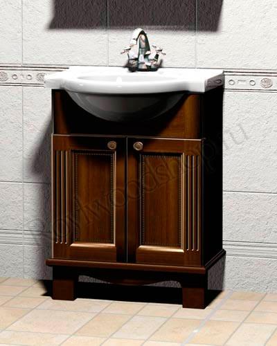 Гарнитур в ванную комнату - тумба под раковину