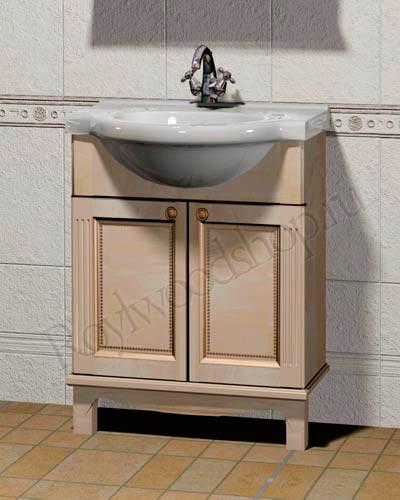 Мебель в ванную Классика - мойдодыр массив