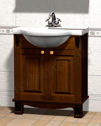 Тумба для ванной комнаты 75