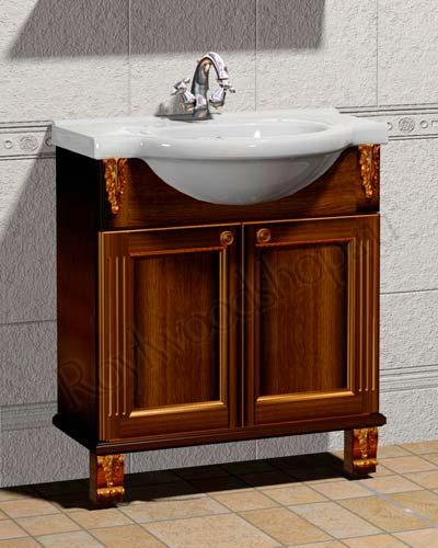 Тумба для ванной комнаты массив