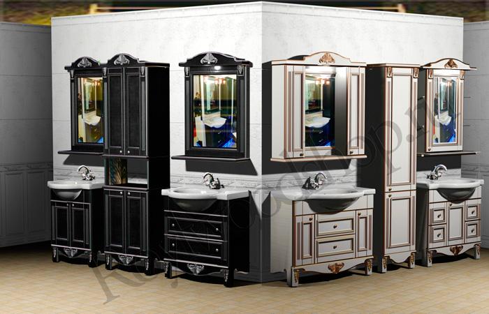 Мебель в стиле Прованс для ванной комнаты