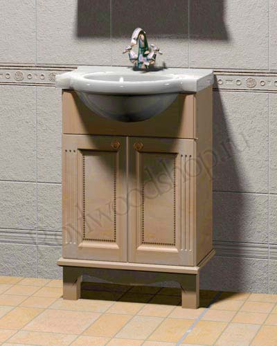 Мебель в ванную из дерева - мойдодыр