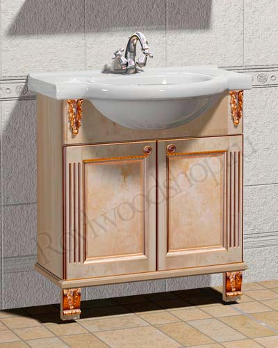 Мойдодыр для ванной комнаты 75см
