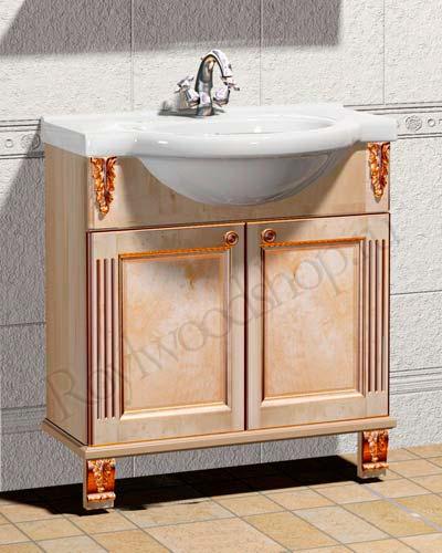 Мойдодыр для ванной или раковина с тумбой