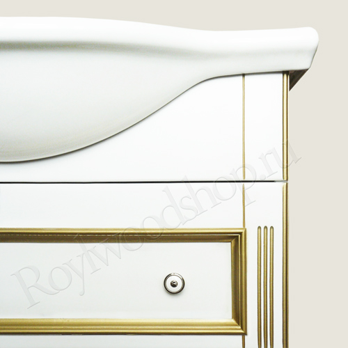 Белая мебель для ванной комнаты