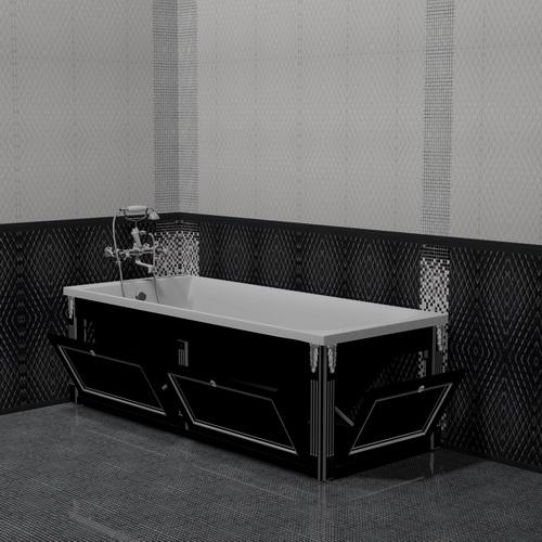 Экран для ванны откидной 170 см