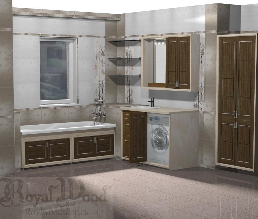 Дизайн ванной комнаты в современном стиле. Коллекция